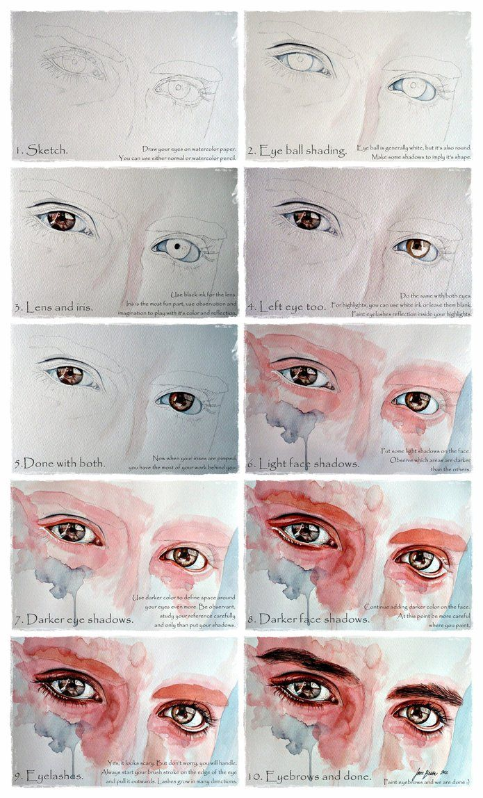 Drawn number watercolor Ideas jane Pinterest to tutorial