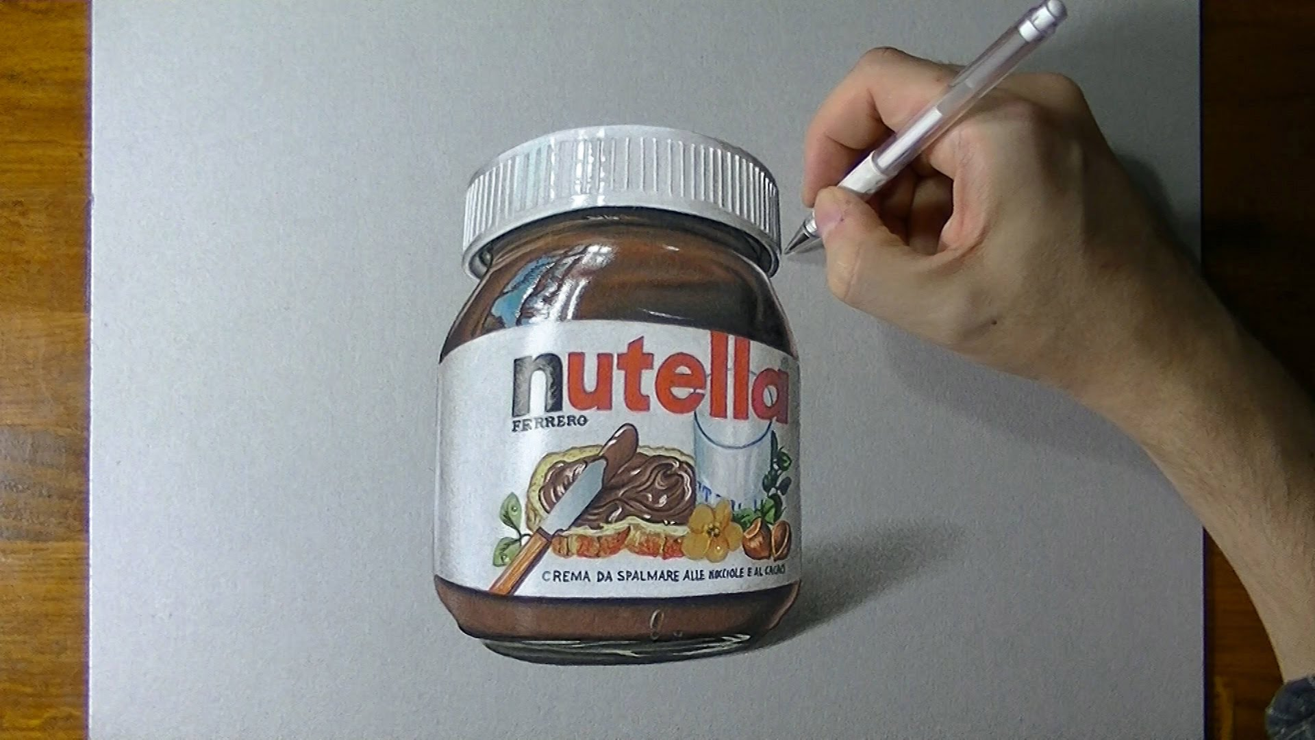 Drawn nutella #1