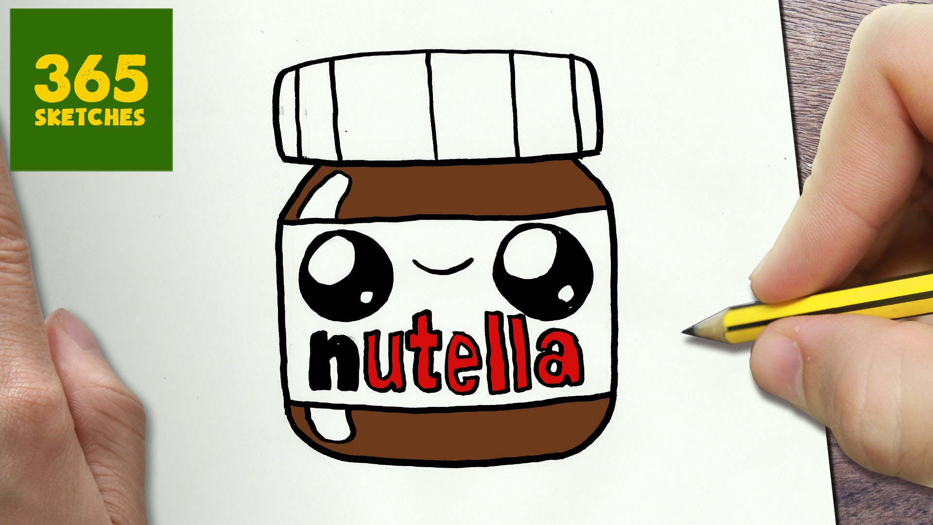 Drawn nutella #11
