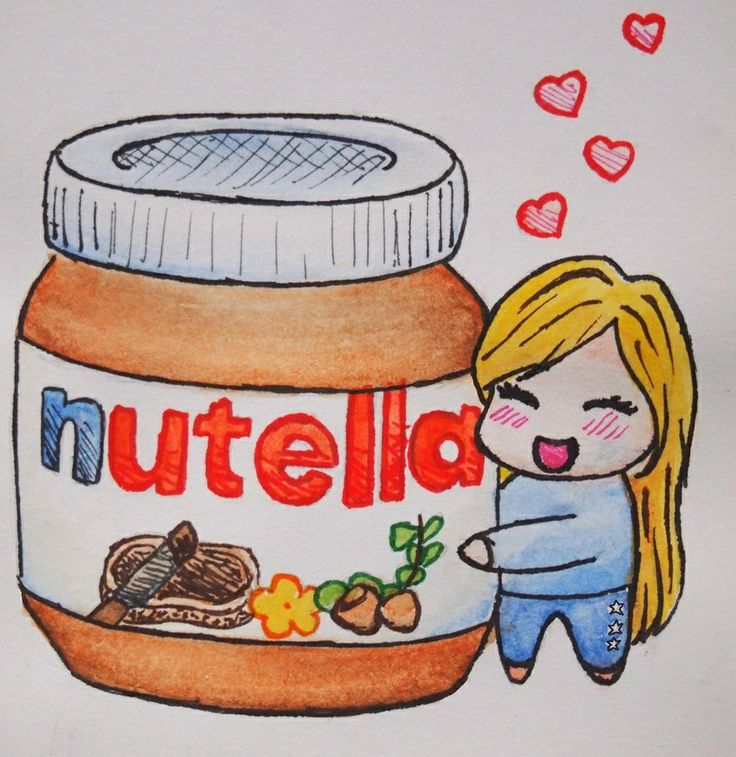 Drawn nutella #6