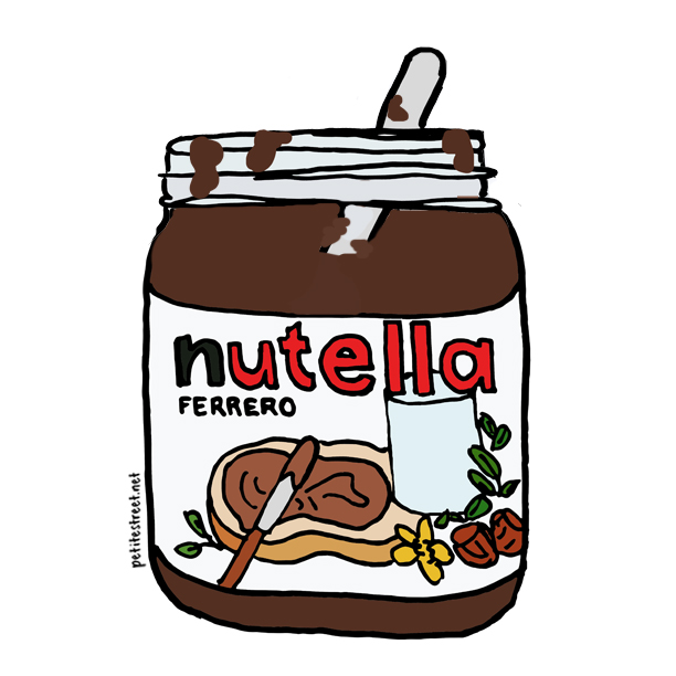 Drawn nutella #2