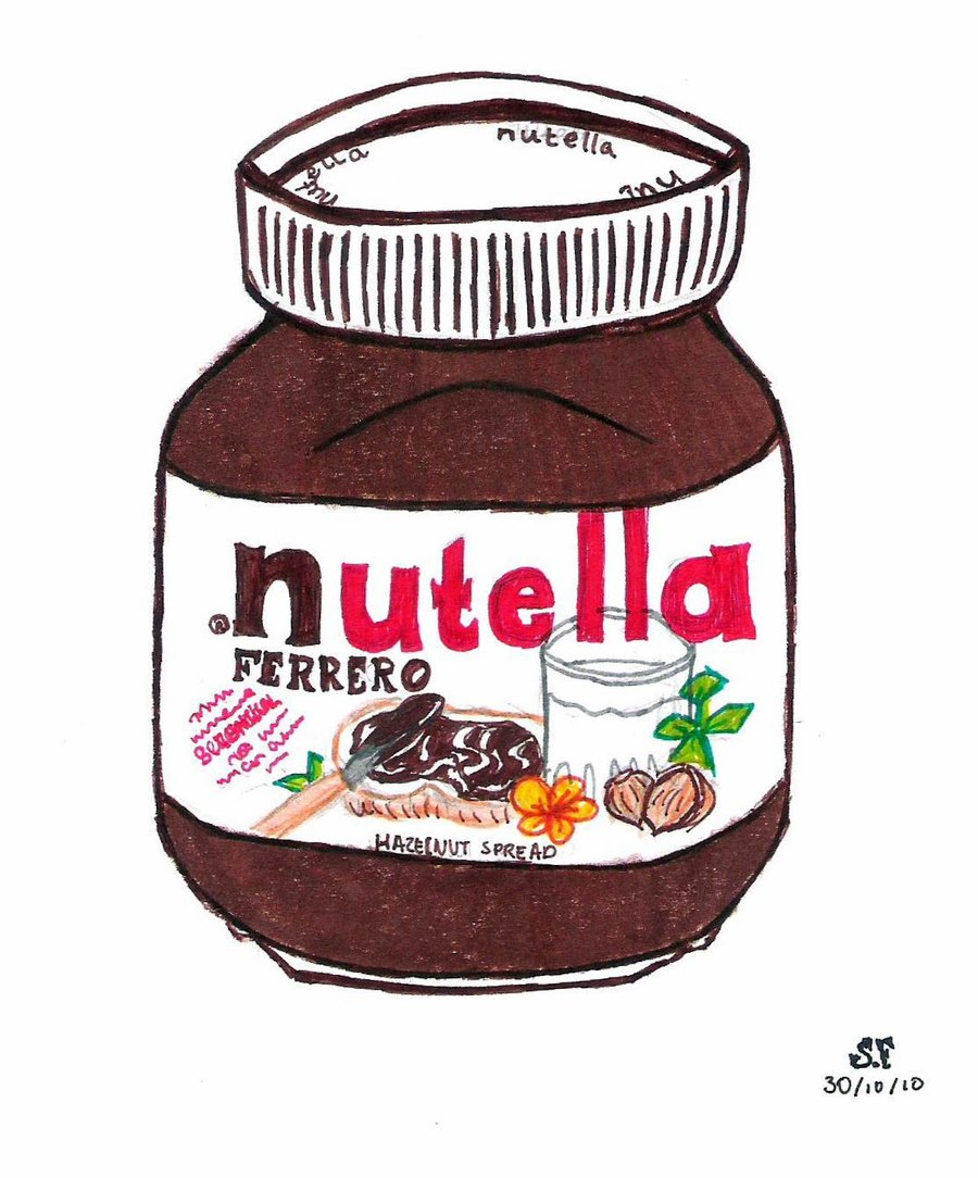 Drawn nutella #4