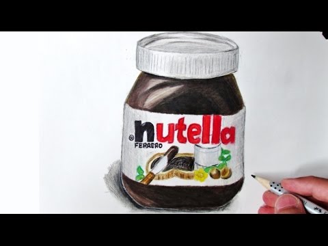 Drawn nutella #3