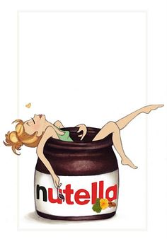 Drawn nutella #9