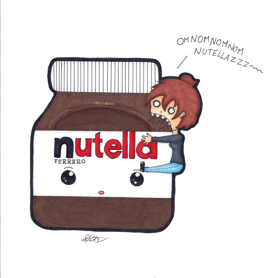 Drawn nutella #7