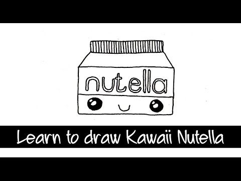 Drawn Nutella Drawing Pencil And In Color Drawn Nutella