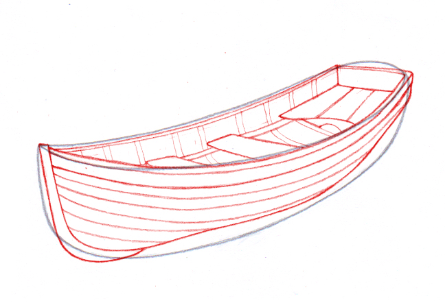Drawn yacht wooden boat A titled Draw wikiHow 4