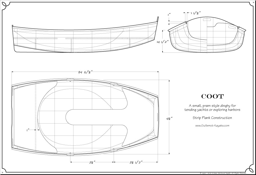 Drawn yacht wooden boat Designs plans Small full sized