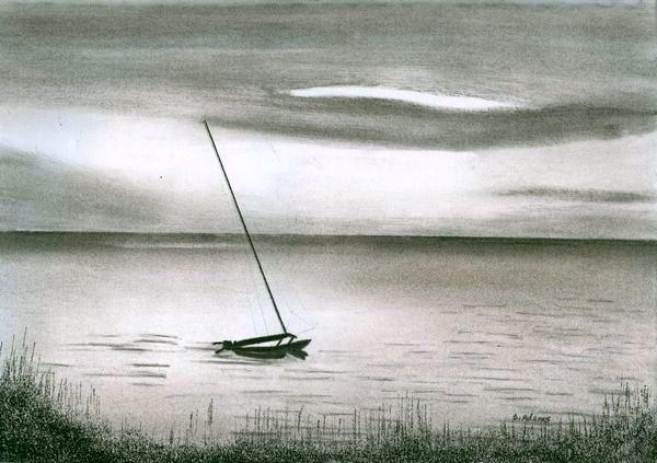 Drawn oat Sunset Sea Oats Page at