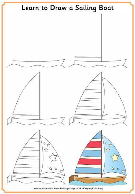 Drawn yacht printable Explore Village learn_to_draw_a_sailing_boat_460_0 jpg Activity