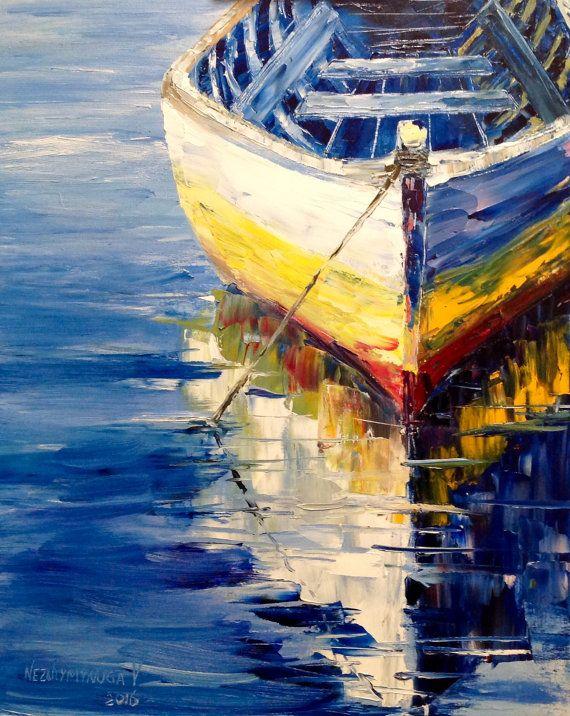 Drawn sailboat painted Art 25+ Wall ideas on