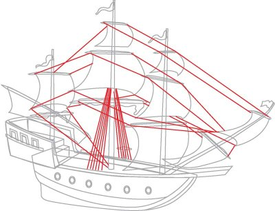 Drawn ship pirat Draw Ships How HowStuffWorks to