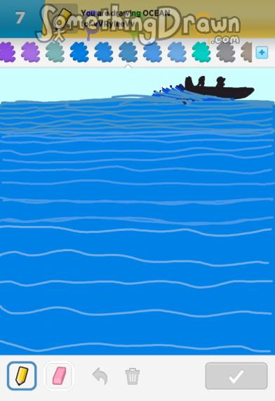 Drawn ocean SomethingDrawn OCEAN  Something Draw