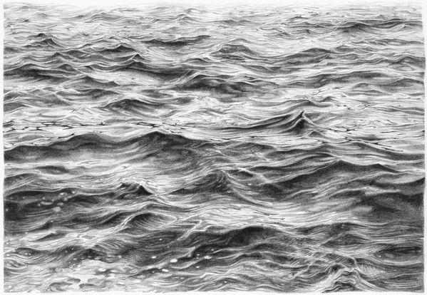 Drawn ocean Image Drawing Realistic Ocean Ocean