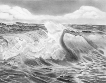 Drawn ocean Drawing  Board