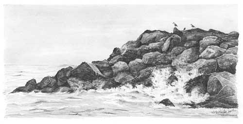 Drawn ocean Drawing Images Art Ocean Realistic