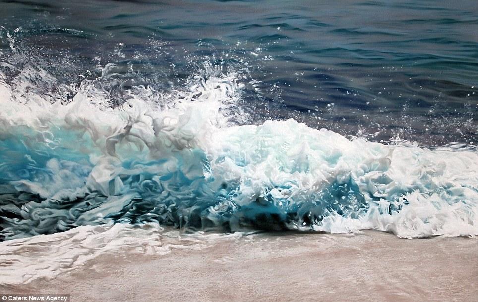 Drawn ocean Main created and ocean the