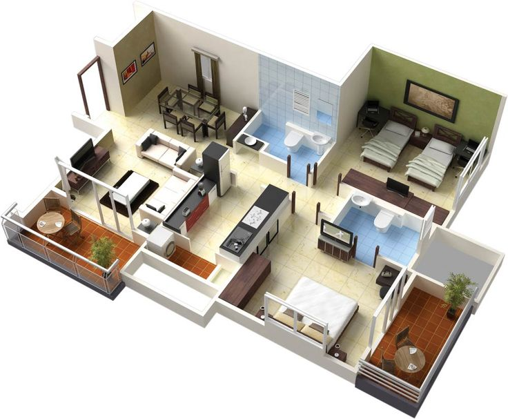 Drawn office 3d building Floor And Plans about Nice