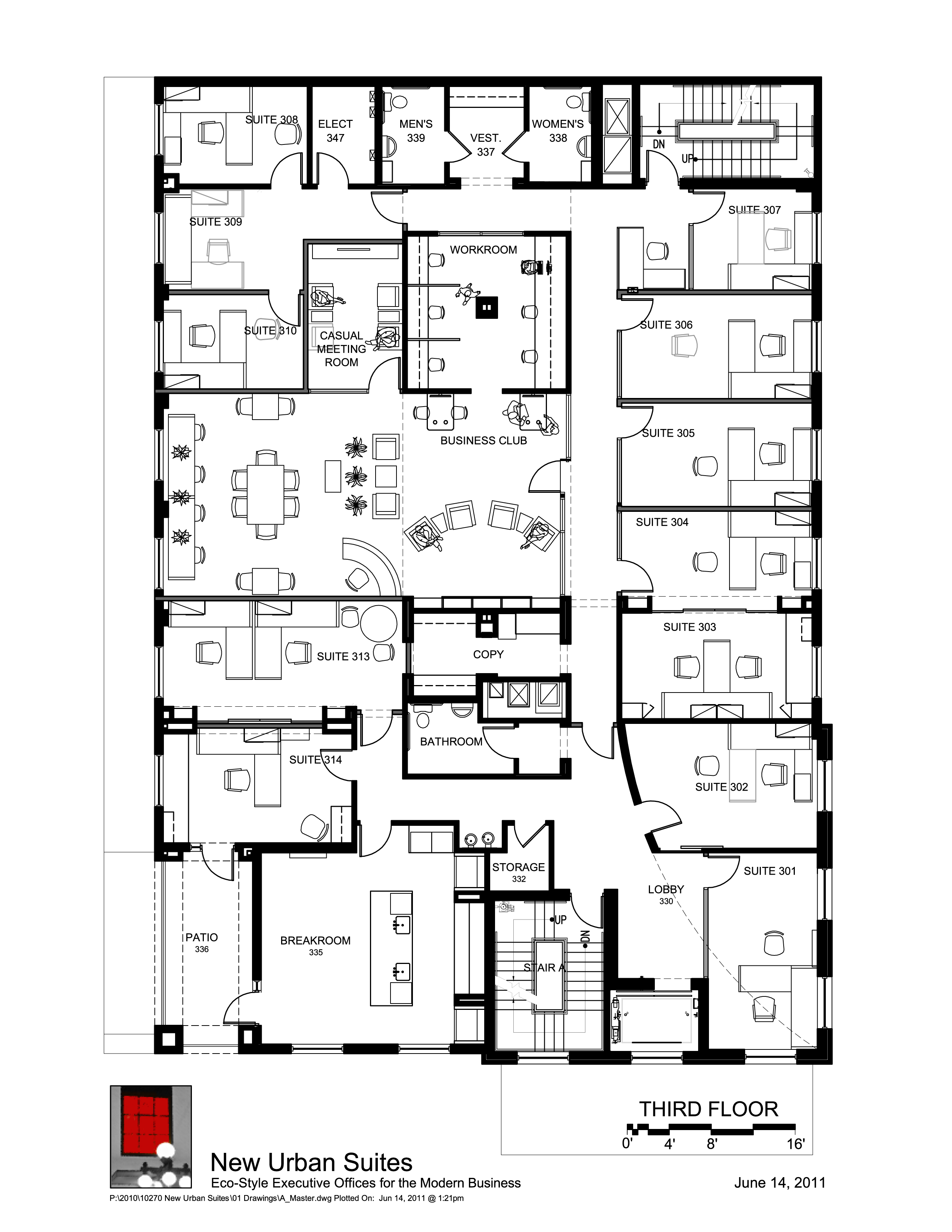 Drawn office admin office The floor floor different totally