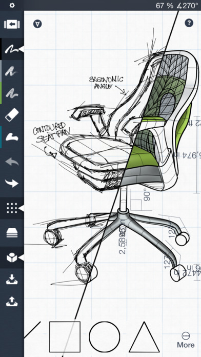 Drawn office apple design Sketch Design iPhone 2 Screenshot