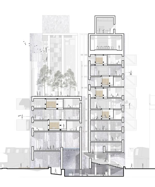 Drawn office architect office Colors ong Pinterest O on
