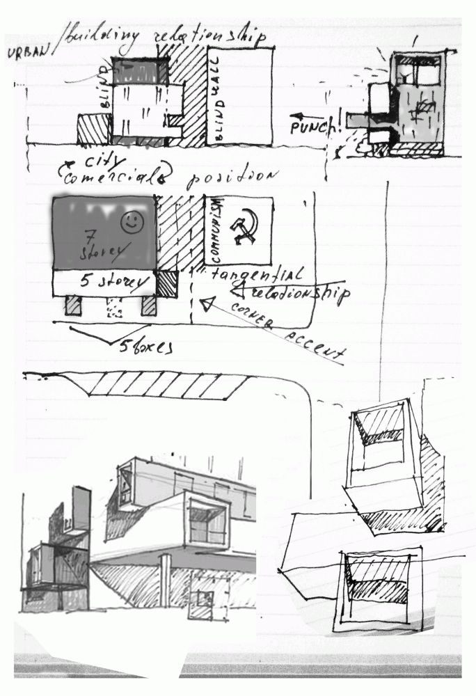 Drawn office architectural Pinterest Building images Architectural about