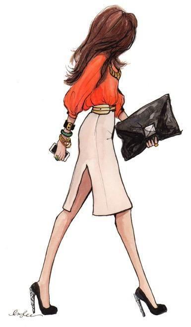 Drawn office attire Fashion Pinterest wear on images