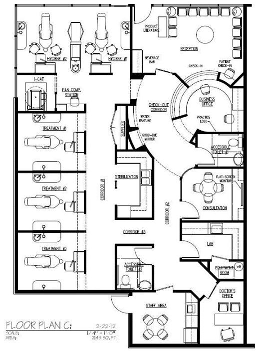 Drawn office blueprint About desk best on 412