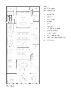 Drawn office blueprint Plan Layout Office Sales Floor