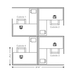 Drawn office blueprint Minutes: floor these drawing floor