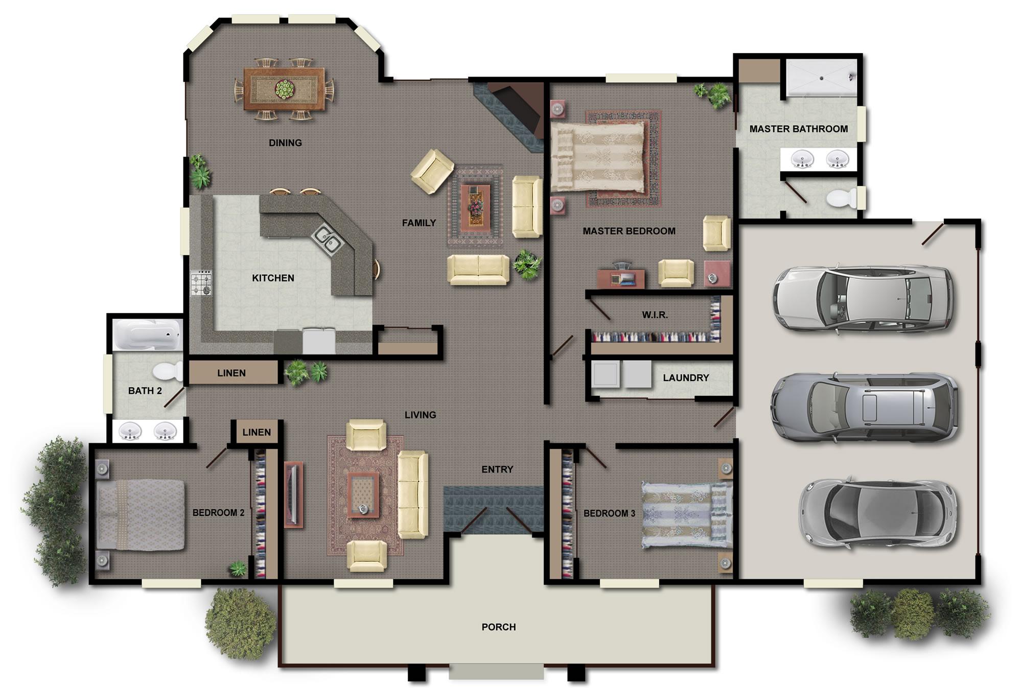 Drawn office blueprint design & Permit Services Plans Houston
