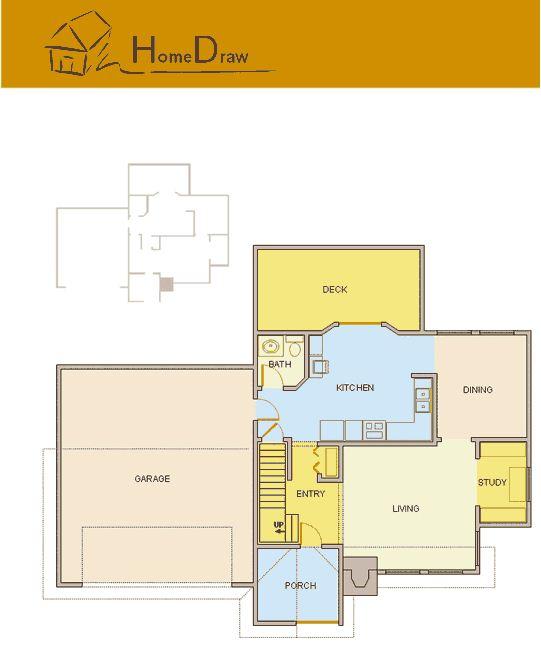 Drawn office blueprint design Plan Software  Layout layout