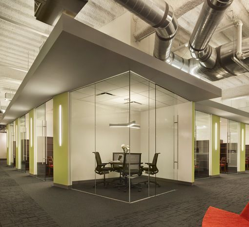 Drawn office commercial office Design & Interior  Shaw