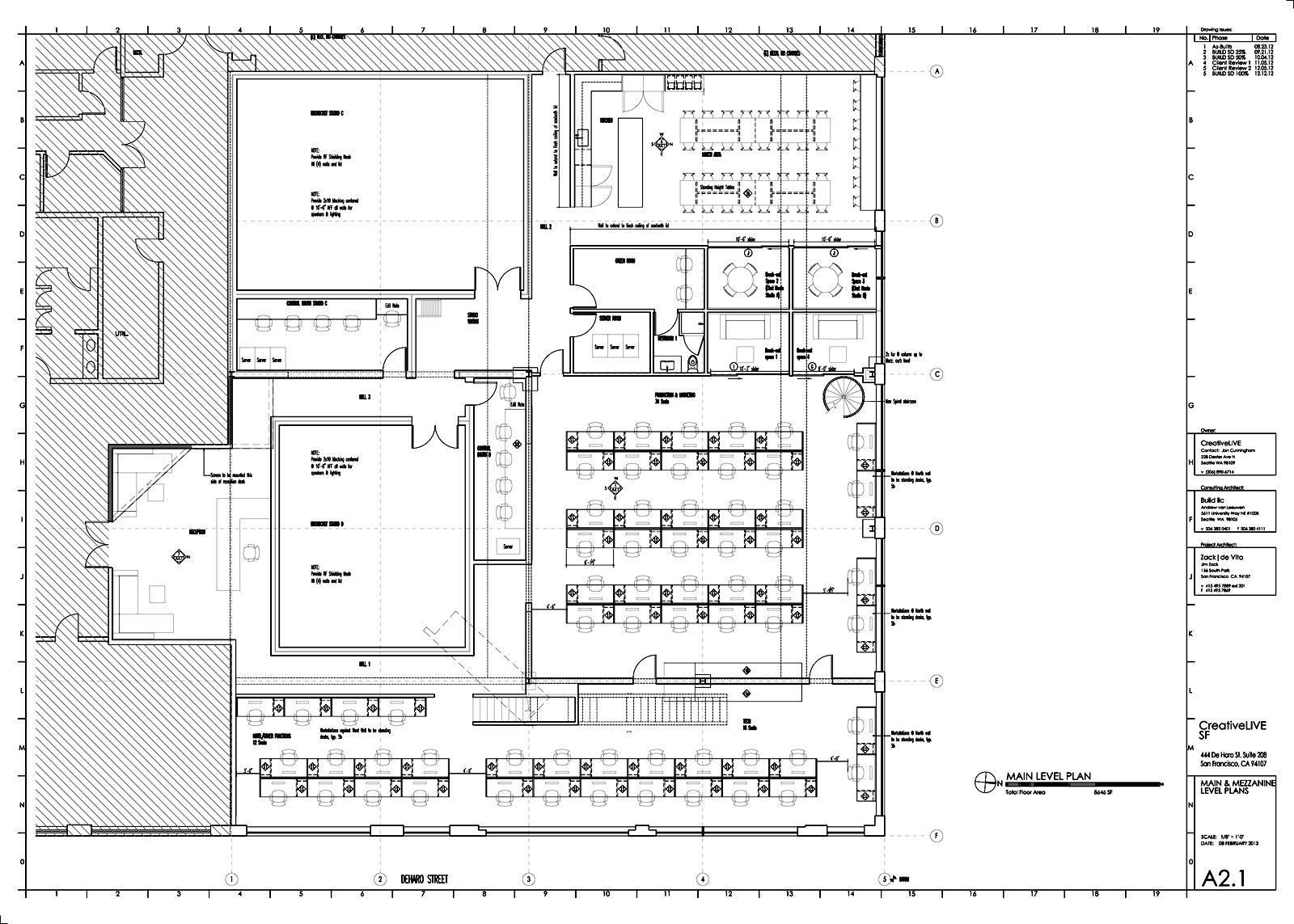 Drawn office commercial office BUILD The BUILD LLC Process
