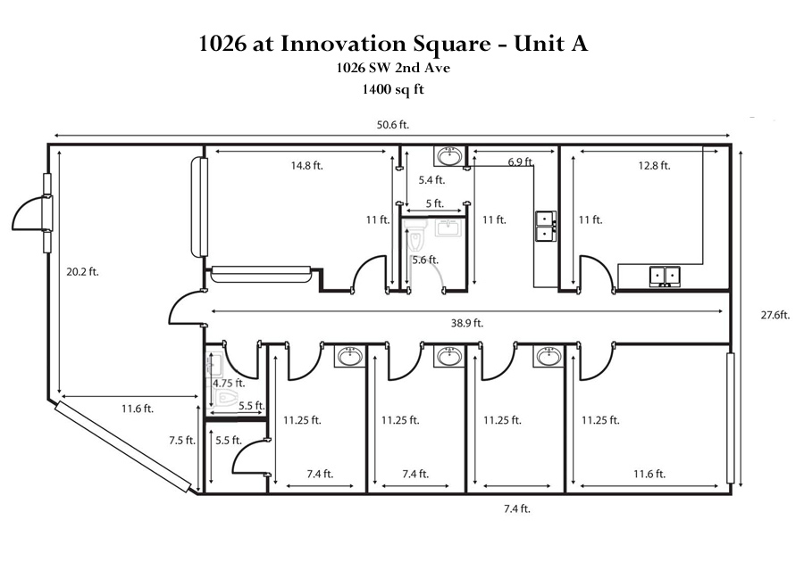 Drawn office commercial office Commercial Floorplan   1026A