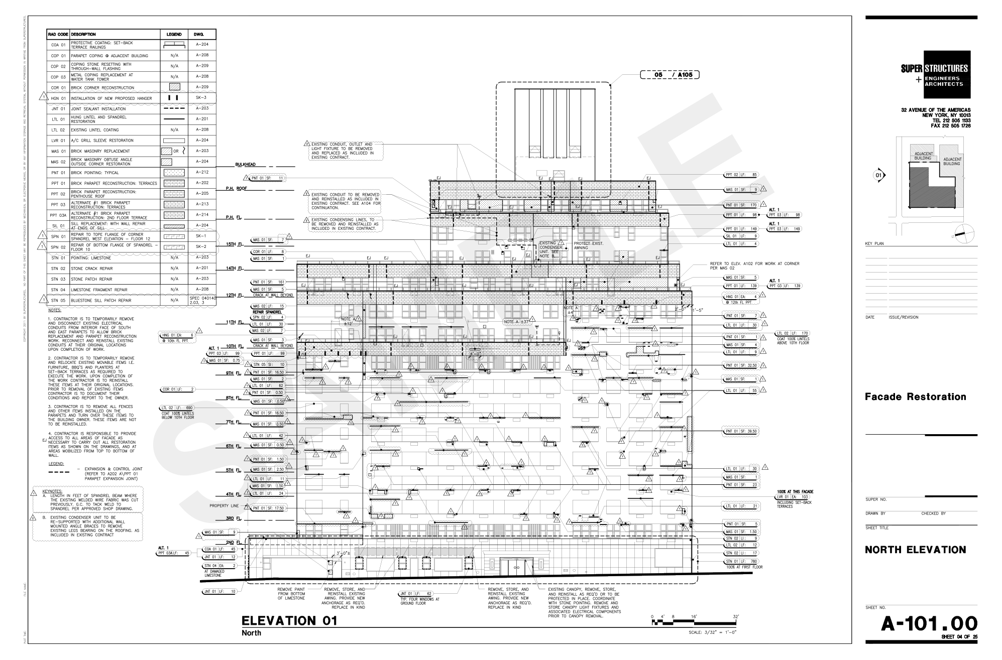 Drawn office contractor SUPERSTRUCTURES View Drawing Design Approach