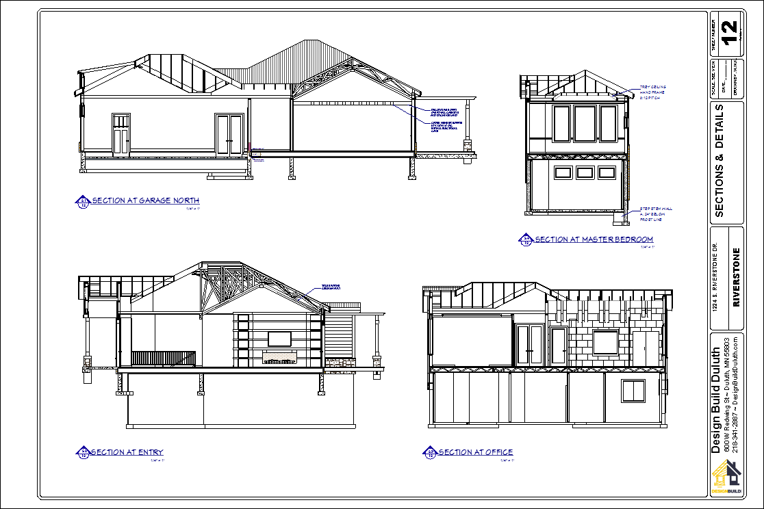 """Drawn office contractor Cutaways Drawing Checklist important ¼"""""""