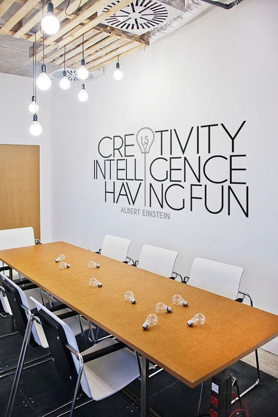 Drawn office creative office Best wall graphics Pinterest on