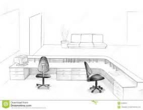 Drawn office cubicle Office Cubicle cubicle Sketch Sketch