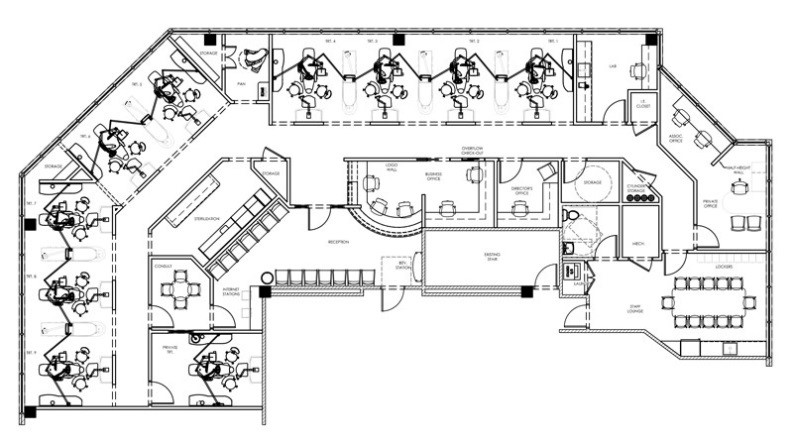 Drawn office dental office Remodeling 220x123 4 Considerations Remodeling