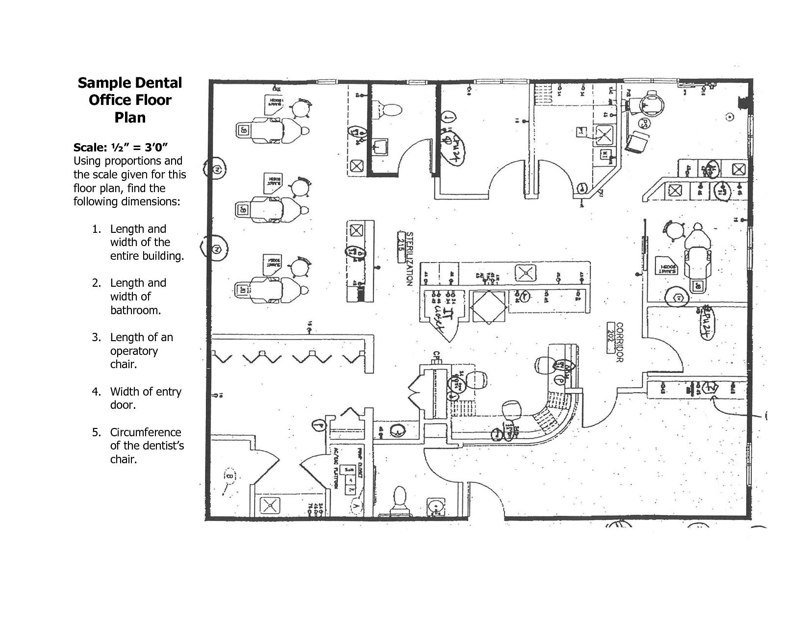 Drawn office dental office Design Office Plans Office Office