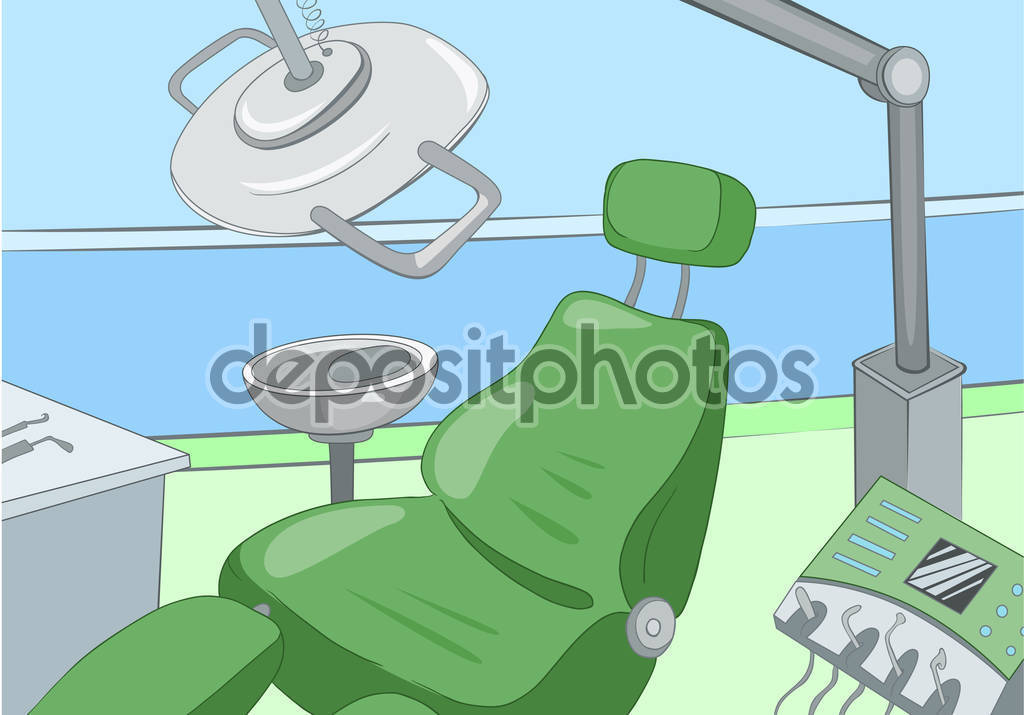 Drawn office dentist office Medical Colourful office of room