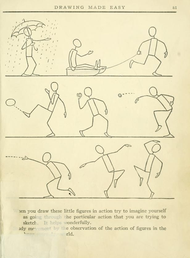 Drawn office easy Book Featuring drawing lessons 1921