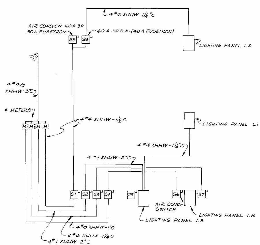 Drawn office electrical DeRigne Associates & (J for