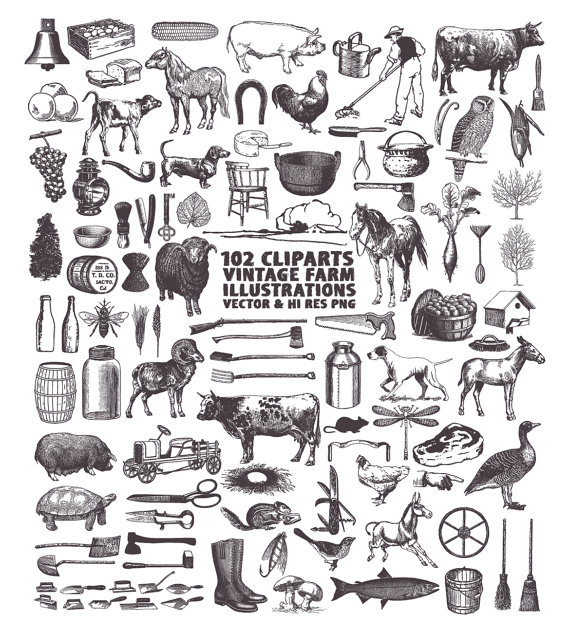 Drawn office farm Elements Clipart Food Cooking Clipart