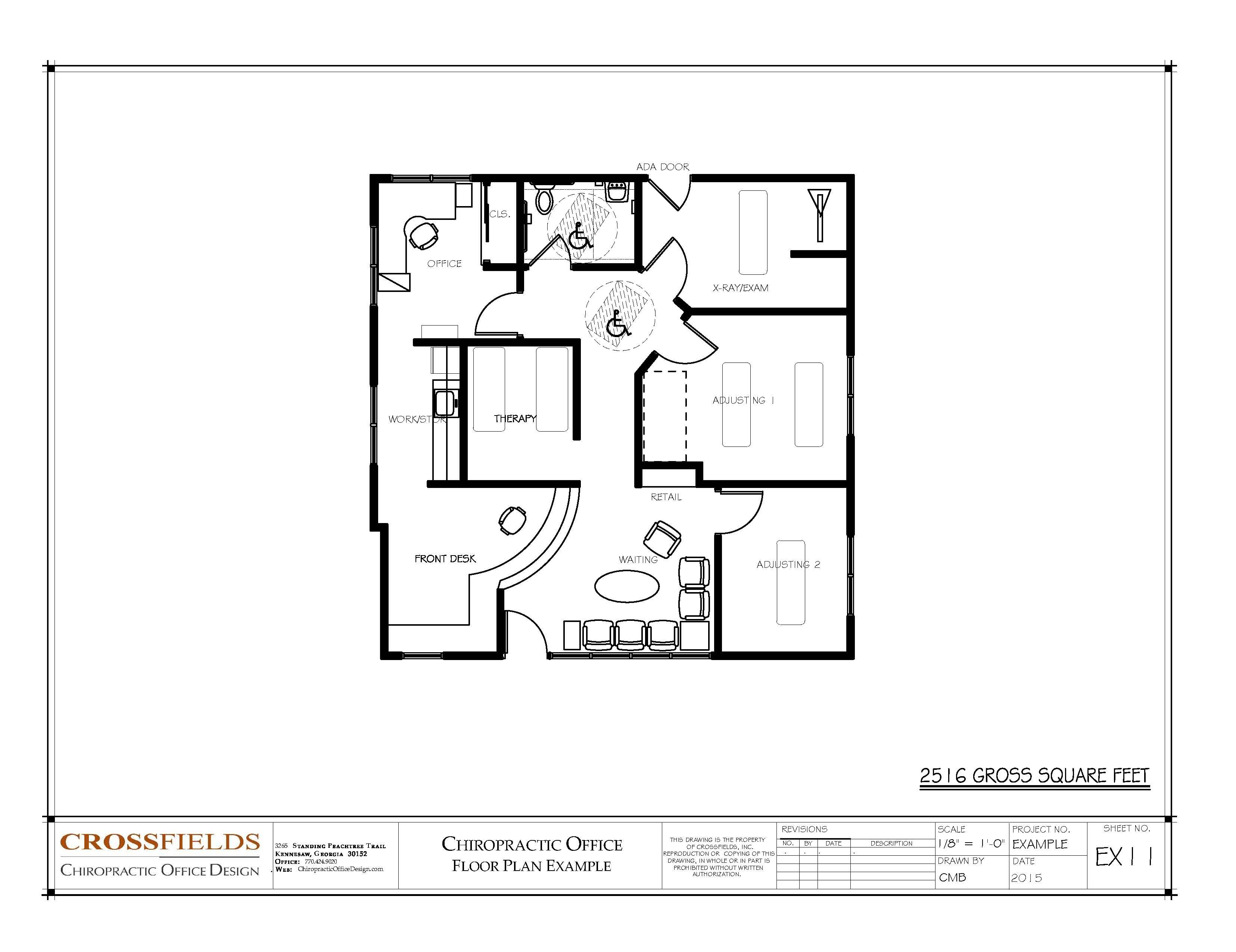 Drawn office floor plan design Ideas Ft Chiropractic Gross See