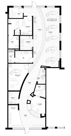 Drawn office floor plan design  Floor Day Floor Spa