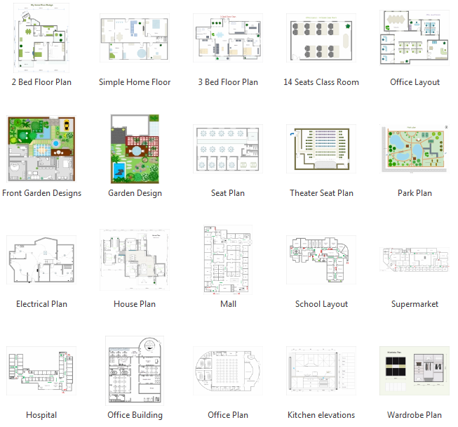 Drawn office floor plan design Floor and From  Create