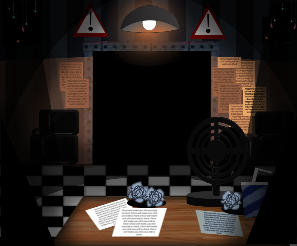 Drawn office fnaf 2 Office by Office MelodyCharlotte by