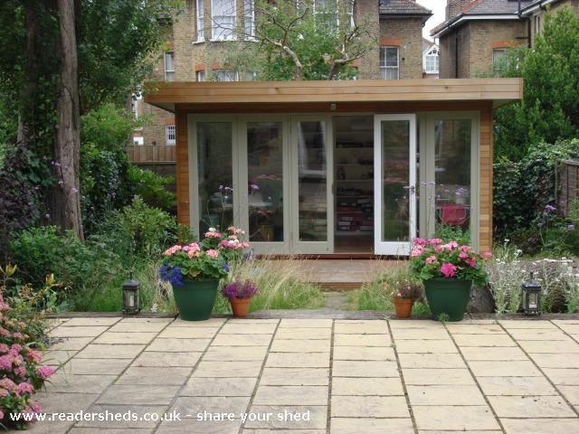 Drawn office garden office Garden from Pinterest Workshop Judith's